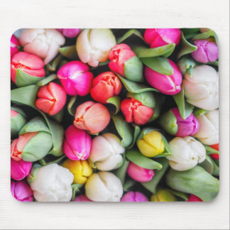Freshly Picked Tulips Mouse Mat