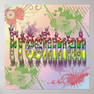 Freshman - Flowers Poster