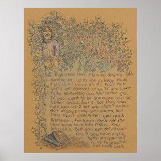 Freshman On The Vine - Poster