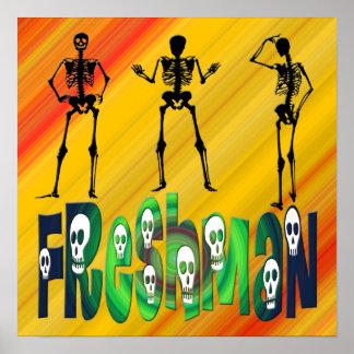 Freshman -  Skeletons Poster
