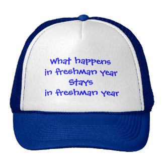 Freshman Year Mesh Hats