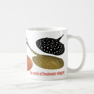Freshwater Amazon Stingrays Coffee Mug