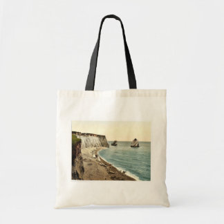 Freshwater Bay Arch and Stag Rocks, Isle of Wight, Tote Bag