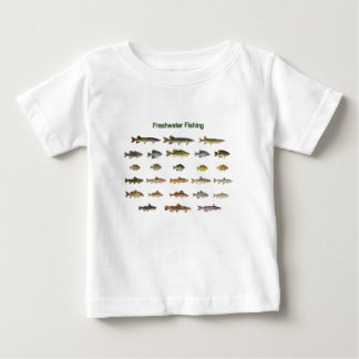 Freshwater Fishing Baby T-Shirt
