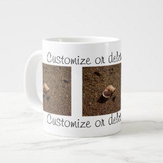 Freshwater Snail Shell; Customizable Large Coffee Mug