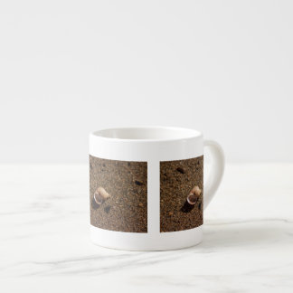 Freshwater Snail Shell; No Text Espresso Mug