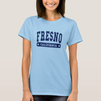 Fresno California College Style tee shirts