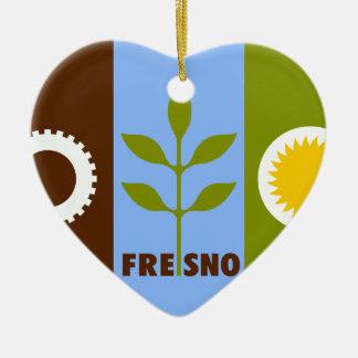Fresno, California, United States Ceramic Heart Decoration