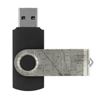 Fresno County, California 12 USB Flash Drive