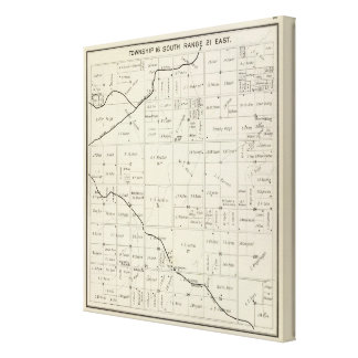 Fresno County, California 13 Stretched Canvas Prints