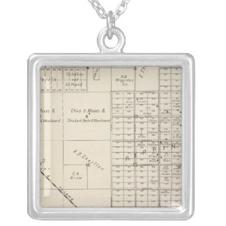 Fresno County, California 14 Silver Plated Necklace