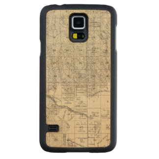 Fresno County, California 17 Carved Maple Galaxy S5 Case
