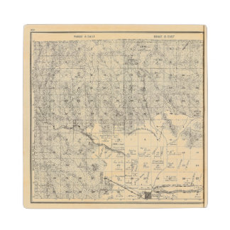 Fresno County, California 17 Wood Coaster