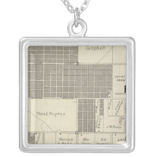 Fresno County, California 18 Silver Plated Necklace