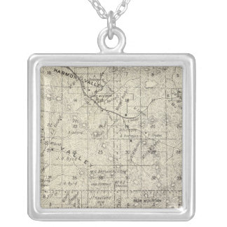 Fresno County, California 26 Silver Plated Necklace