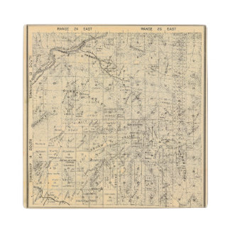 Fresno County, California 26 Wood Coaster