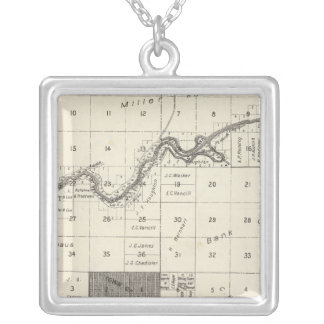 Fresno County, California 27 Silver Plated Necklace