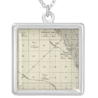 Fresno County, California 29 Silver Plated Necklace