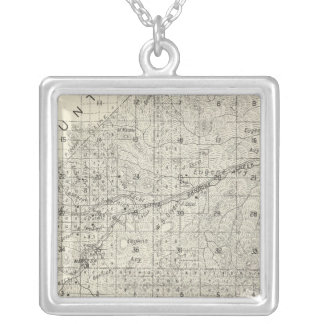 Fresno County, California 30 Silver Plated Necklace