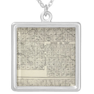 Fresno County, California 32 Silver Plated Necklace
