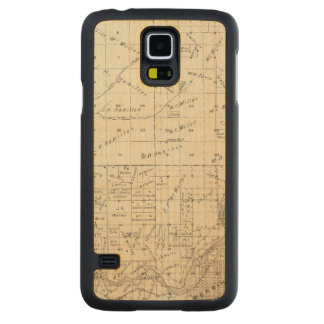 Fresno County, California 3 Carved Maple Galaxy S5 Case