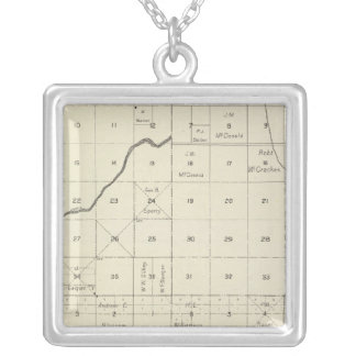 Fresno County, California 5 Silver Plated Necklace