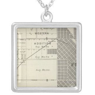 Fresno County, California 7 Silver Plated Necklace