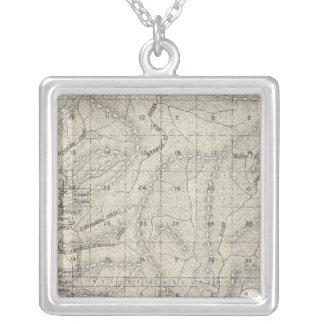 Fresno County, California 9 Silver Plated Necklace