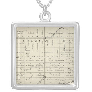 Fresno County, California Silver Plated Necklace