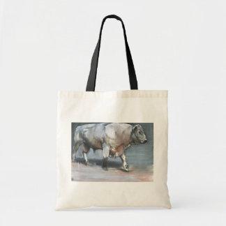 Fresno Galloway Bull Tote Bag