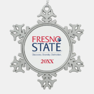 Fresno State Institutional Mark Ornaments