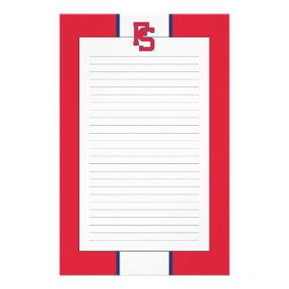 Fresno State Softball Mark Stationery
