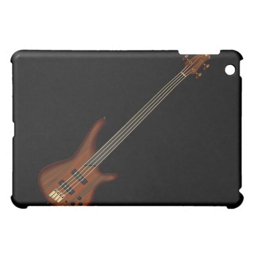 Fretless 4 String Bass Guitar Cover For The iPad Mini