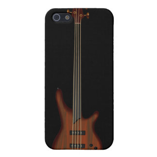 Fretless 4 String Bass Guitar iPhone 5/5S Cases