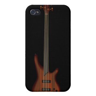 Fretless 4 String Bass Guitar iPhone 4 Cases