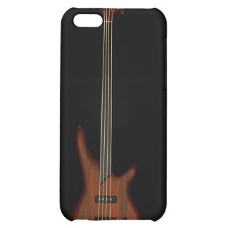 Fretless 4 String Bass Guitar iPhone 5C Cases