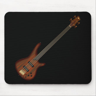Fretless 4 String Bass Guitar Mouse Mat