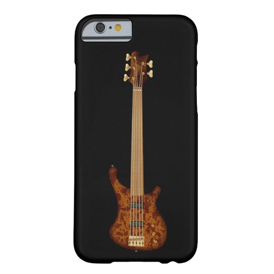 Fretless 5 String Bass Guitar Barely There iPhone