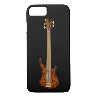 Fretless 5 String Bass Guitar iPhone 7 Case