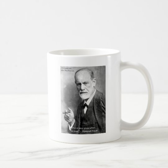 Freud Crazy Lovers Love Quote Gifts Cards Etc