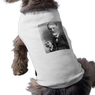 Freud Crazy Lovers Love Quote Gifts Cards Etc Sleeveless Dog Shirt