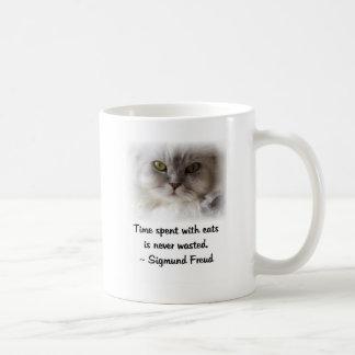 Freud s Cat Coffee Mugs
