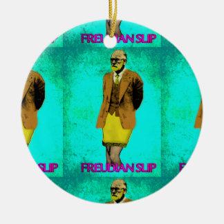 Freudian Slip Grunge Pop Art Meme Christmas Ornament