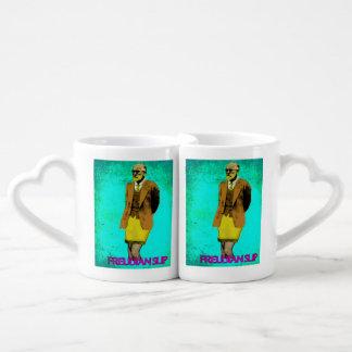 Freudian Slip Grunge Pop Art Meme Coffee Mug Set