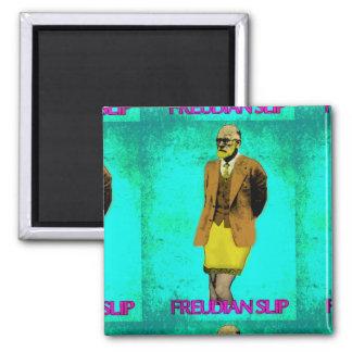 Freudian Slip Grunge Pop Art Meme Magnet