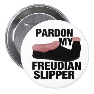 Freudian Slipper button