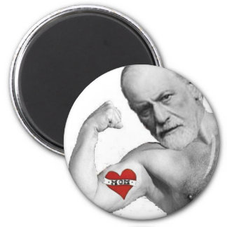 Freud's Mom was HOT 6 Cm Round Magnet