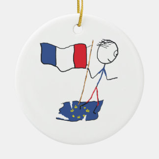 Frexit Christmas Ornament