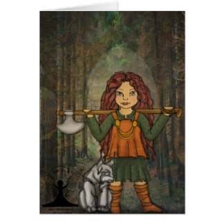 Freya by Mythic Fairy Art Card