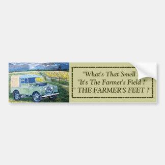 """FREYA"" Land Rover Truck Cab Bumper Sticker"